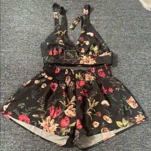 Floral 2-piece outfit